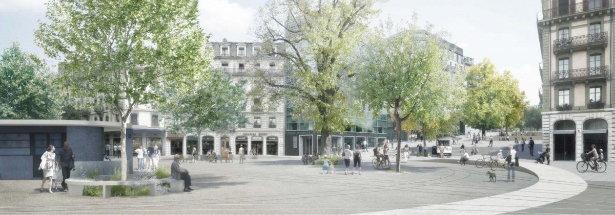 Espaces publics de Rive