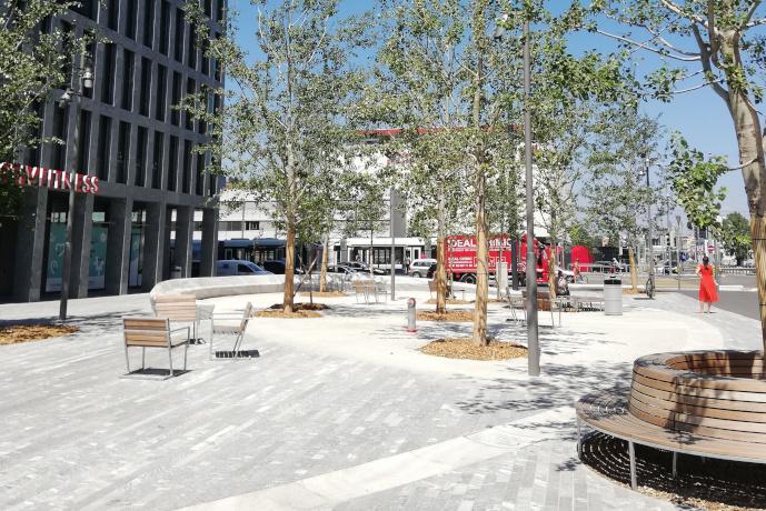 Espaces publics Lancy Pont-Rouge