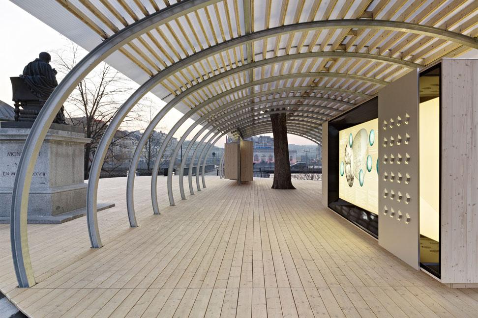 pavillon ile rousseau