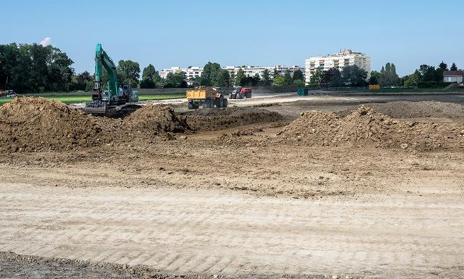 Démarrage des travaux des Communaux d'Ambilly, par la TDG // 05.08.2018