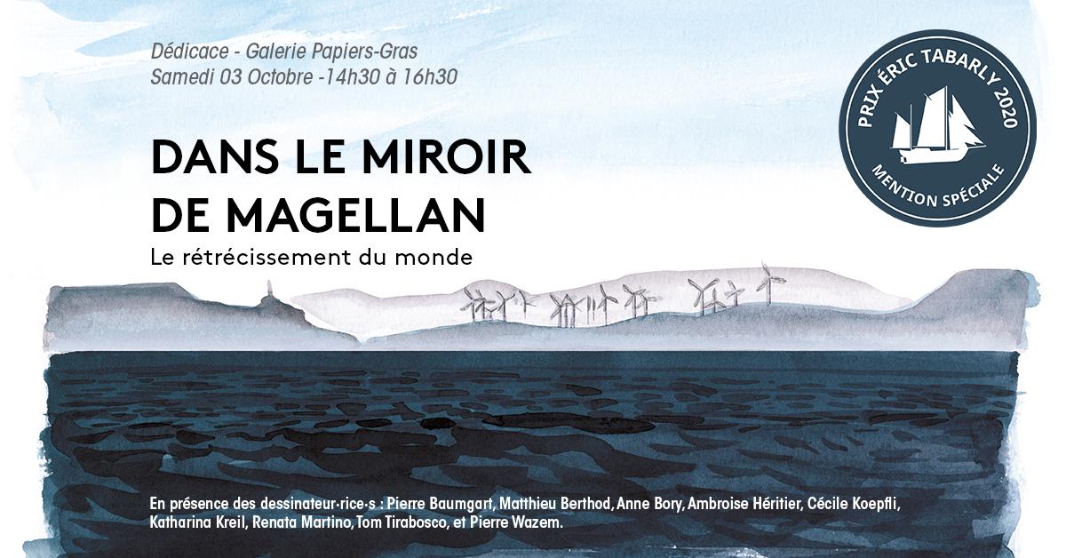 Dans le Miroir de Magellan en dédicace // 03.10.2019