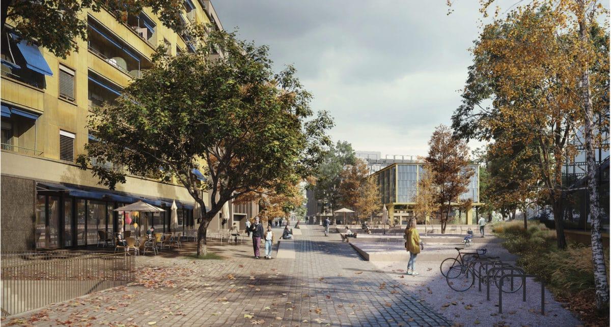 1er rang au concours des Espaces publics Cornavin – Place de Montbrillant! // 18.12.2020